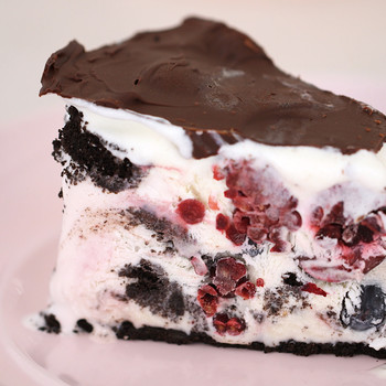 Berries and Cherries Ice Cream Cake Video