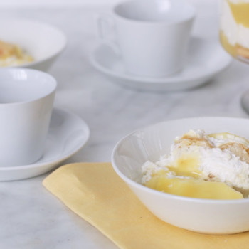 Lemon Trifle with Lemon Curd
