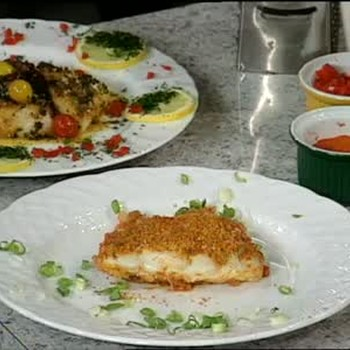 Rustic Baked Scrod with Creole Tomato Sauce