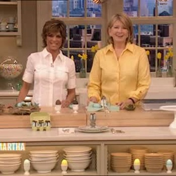 Chocolate Filled Easter Eggs with Lisa Rinna