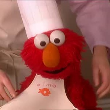 Personalized Apron with Elmo