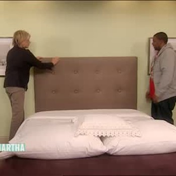 Fabric Covered Headboard with Kenan Thompson