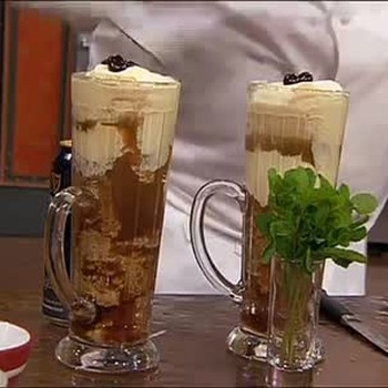 Guiness Beer Homemade Ice Cream Float Recipe