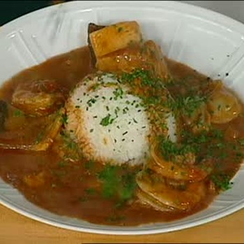 Seafood Coubillon and Etouffee Served Part 3