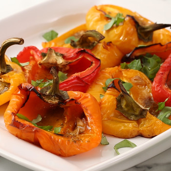 Roasted Peppers with Garlic and Herbs Video