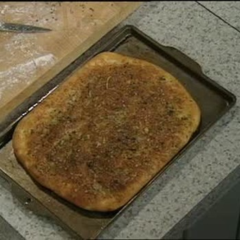 A Basic Focaccia with Herbs and Cheese Recipe