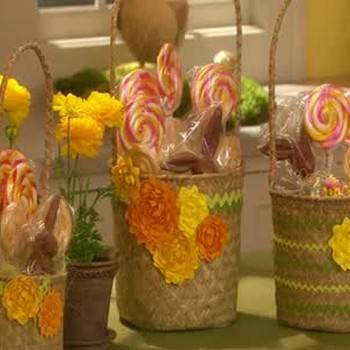 Delightful Easter Baskets Filled with Goodies
