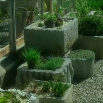 How To Construct a Cement Trough for Planting