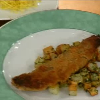 Pan Seared Shad Roe with Browned Butter Sauce, Part 1