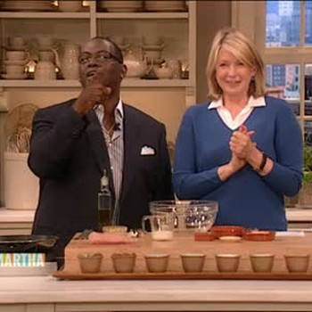 Spaghetti Squash with Turkey Meatballs with Randy Jackson