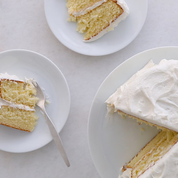 Simple Layer Cake with Vanilla Frosting Video