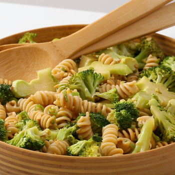 Pasta Salad with Broccoli and Peanuts Video