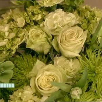 Green Flower Arrangements for St. Patrick's Day