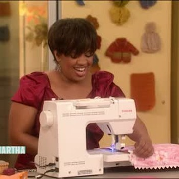Grey's Anatomy Star Chandra Wilson Sews a Quilt