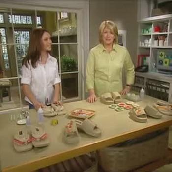 How to Decorate Flip-Flops with Lauren McGrath