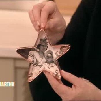 How to Make Cookie Cutter Photograph Ornaments