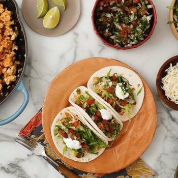 Watch: Ground Chicken Tacos