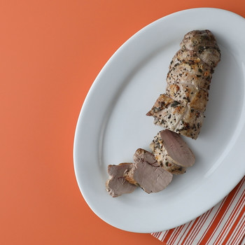 Garlic and Sage-Crusted Pork Tenderloin