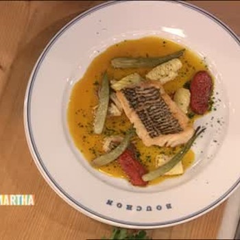 Bass and Saffron Squid from South France Part 2