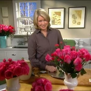 Creating a Rose Display and Proper Bouquet Care