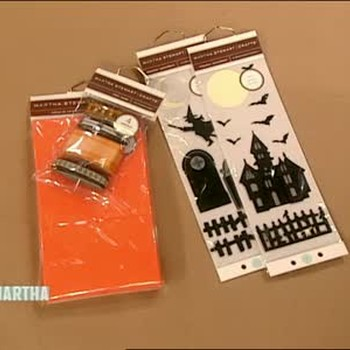 Halloween Invitations and Cards from Craft Kits