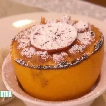 Light Breakfast: Broiled Grapefruit and Porridge