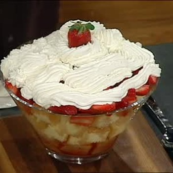 Emeril's Lagasse's Recipe for Strawberry Shortcake