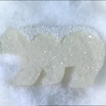 Glitter Animal and Snowflake Christmas Ornaments