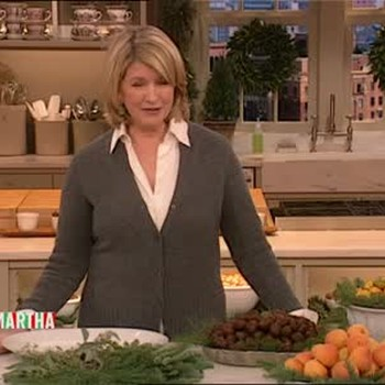Good Thing: Organic Evergreen Holiday Centerpiece