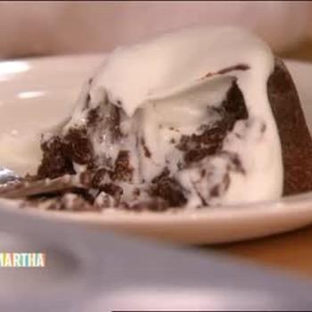 Gooey Molten Chocolate Cake with Meredith Vieira