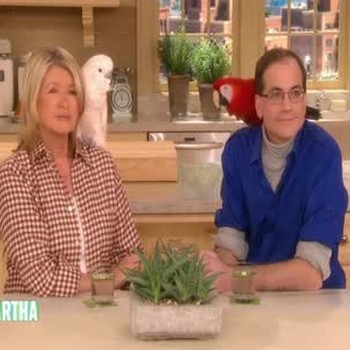 Marc Morrone and Martha Stewart Answer Questions