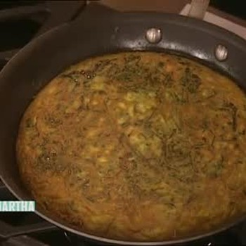 Swiss Chard and Cheese Omelet with Ivan Alegrete