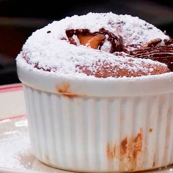 Emeril Lagasse Makes the Perfect Chocolate Soufflé
