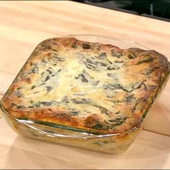 Healthy and Light Lasagna and Apple Crisp Dessert