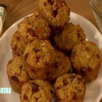 Cherry Pecan Cornbread Muffin Recipe