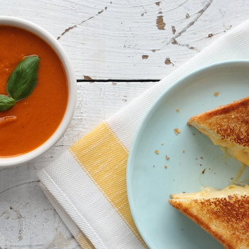 Perfecting Grilled Cheese and Tomato Soup Video