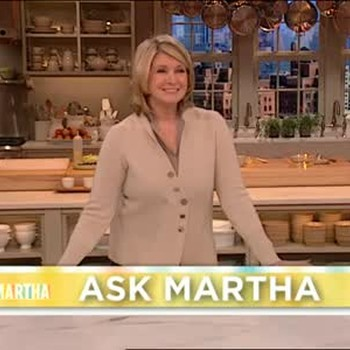 Vegetable Garden Tips and Why Martha Has a TV Show