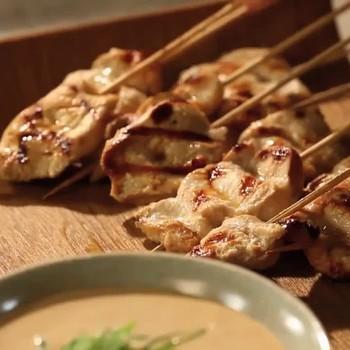 Martha Stewart's Crowd-Pleasing Chicken Satay Recipe
