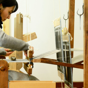 Ricketts Indigo's Modern American Made Textile Designs
