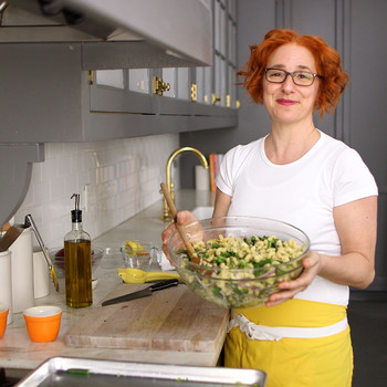 Marinated-Artichoke and Green-Bean Pasta Salad Video