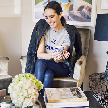 10 Home Office Ideas Inspired by Fashionista Louise Roe's Home