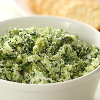 Creamy Broccoli-Spinach Dip Video