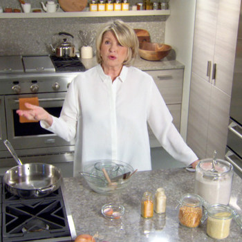 Martha Stewart Raps Through The 10 Ways to Clean Your Kitchen