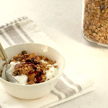 Toasted Muesli with Millet, Coconut, Pistachios and Cranberries