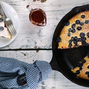 Oven-Baked Blueberry Pancake Video EDFSC