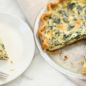 Spinach and Cheese Quiches