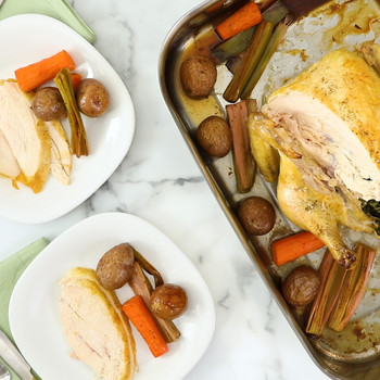 Herb-Roasted Chicken and Vegetables Video