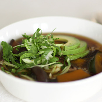 Brown Rice Bowls with Faux Dashi Video HA