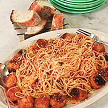 Mark's Spaghetti and Meatballs