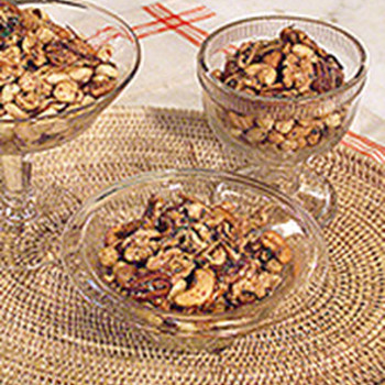 Warm Mixed Nuts